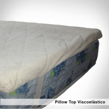 Pillow Top Viscoelastico