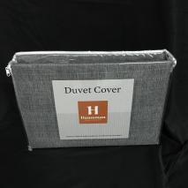 Duvet Cover Jean Black 200 hilos